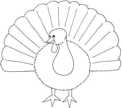 printable picture of a turkey to color 6 best images of thanksgiving turkey face printable