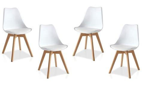 scandinavische eetkamerstoelen stoelen scandinavische design groupon goods
