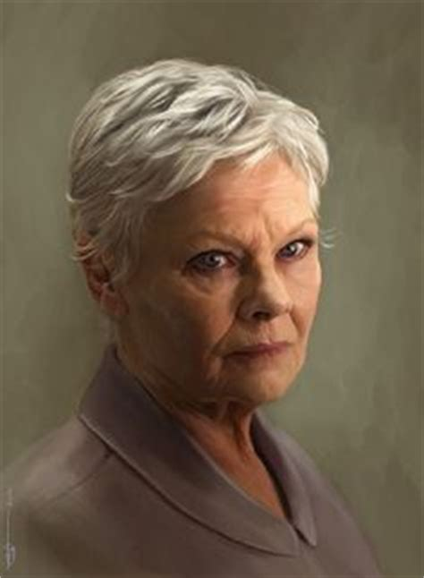 how to cut judi dench bangs judi dench isn t she just lovely famous women