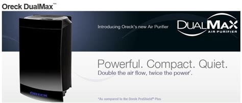 review and giveaway oreck dualmax air purifier