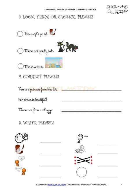 printable english test worksheets free printable english practice worksheet junior b u1 2 b