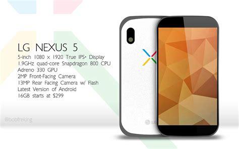 in nexus 5 nexus 5 nexus 8 and nexus 11 concepts surface