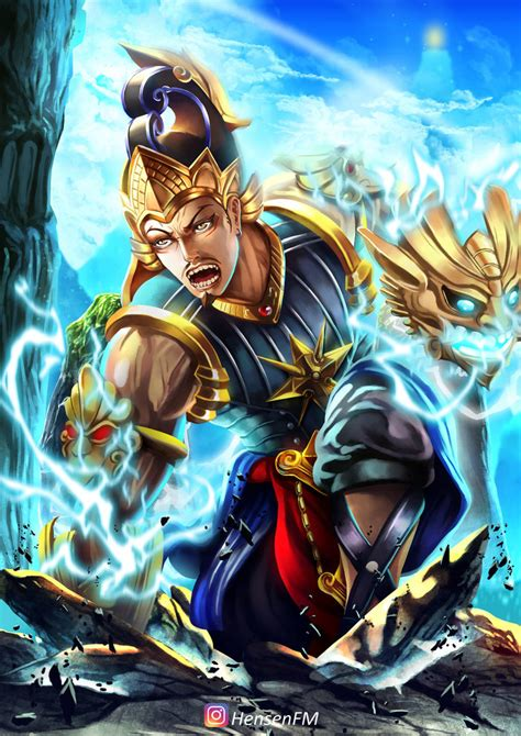 wallpaper hd gatotkaca gatotkaca mobile legends fanart hensenfm by hensenfm on