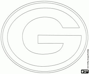 green bay packers coloring pages nfl logos coloring pages printable