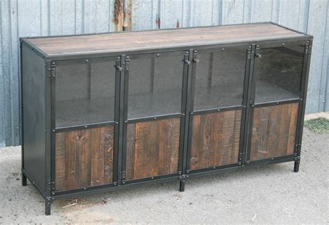 nice cabinet desk 3 vintage credenza desk furniture combine 9 industrial furniture reclaimed wood display