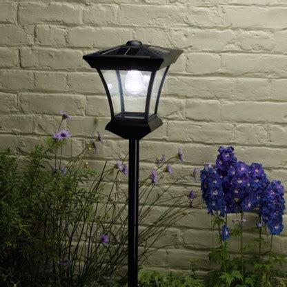 Led Lu Taman Energi Solar Black buy cheap solar garden post compare lighting prices for