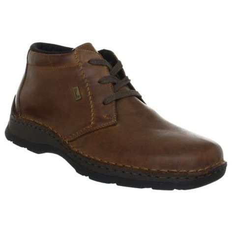 rieker mens 05344 25 brown lace ankle boots marshall shoes