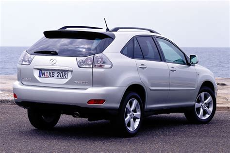lexus rx 400h business tech 2008 parts specs
