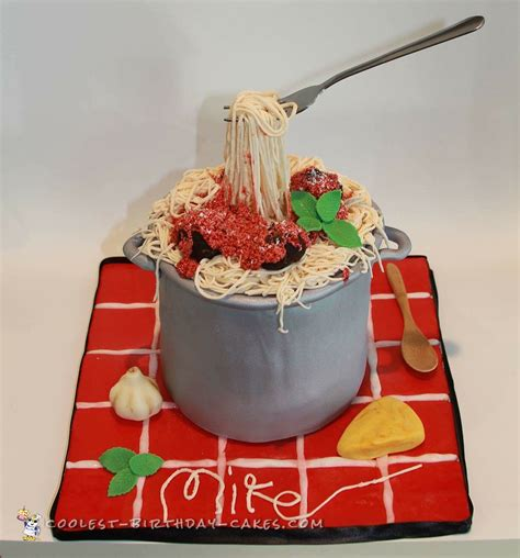 ikea s birthday cake coolest photos awesome spaghetti and meatballs italian themed cake