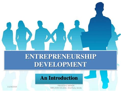 Mba Colleges For Entrepreneurship by Entrepreneurship Development