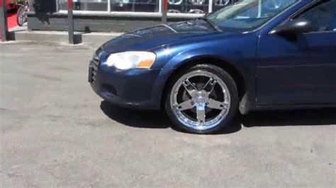Chrysler Sebring Rims by Hillyard Custom Tire 2006 Chrysler Sebring Rolling On