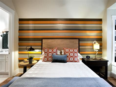 striped accent wall transitional girl s room photo page hgtv