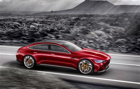 mercedes concept mercedes amg gt concept revealed previews upcoming four