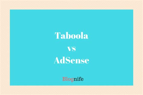 adsense cpm rates taboola vs adsense cpm rates payments and earnings