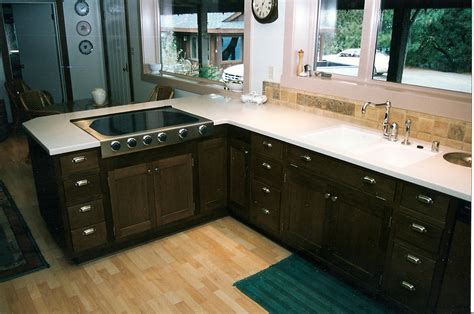 how to stain kitchen cabinets black black color staining oak kitchen cabinets with white