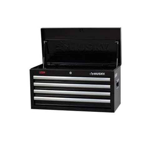 Husky 4 Drawer Tool Chest by Husky 26 In W 4 Drawer Chest H4ch1 The Home Depot