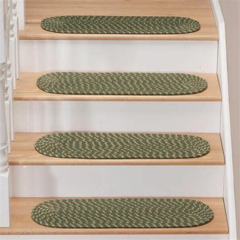 Non Slip Stair Rugs by Braided Non Slip Stair Treads Stair Treads Walter