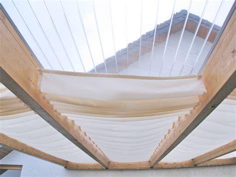 wintergartenbeschattung innen selber machen sonnensegel in seilspanntechnik f 252 r terrassen 252 berdachungen