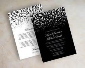 black and white wedding invitations plumegiant
