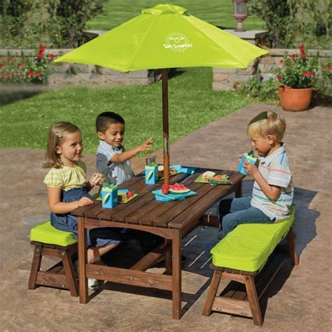 childrens bench table kids picnic table aiden ideas pinterest