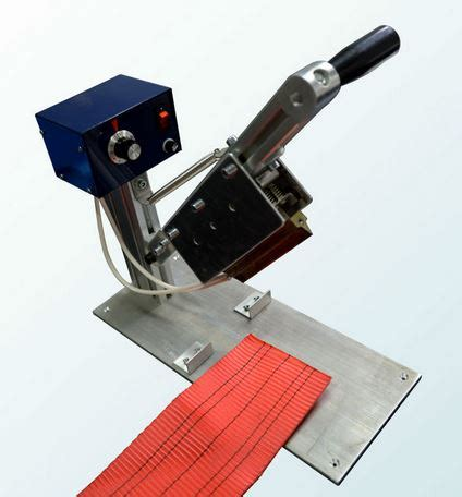 bench mount hot knife hot knife bow rope cutters hilltop products ltd
