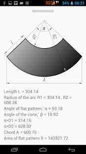 flat pattern cone shape flat pattern cone android apps on google play