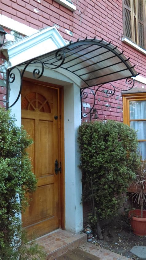 alero de puerta principal ideas carpinteros