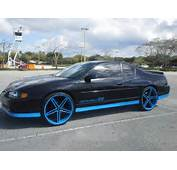 Chevy Monte Carlo Ss On 22 Inch Irocs  Big Rims Custom Wheels