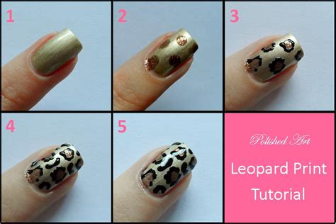 easy nail art print simple nail art tutorial step by step style arena