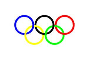 what are the five colors of the olympic rings the five rings two chums