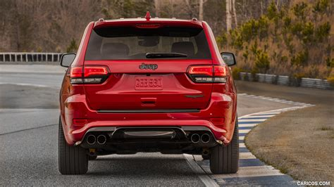 jeep trackhawk back 2018 jeep grand cherokee supercharged trackhawk rear