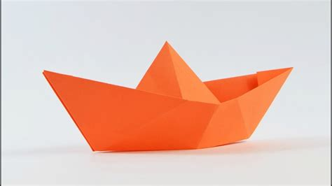 origami canoe origami how to make a simple origami boat that floats