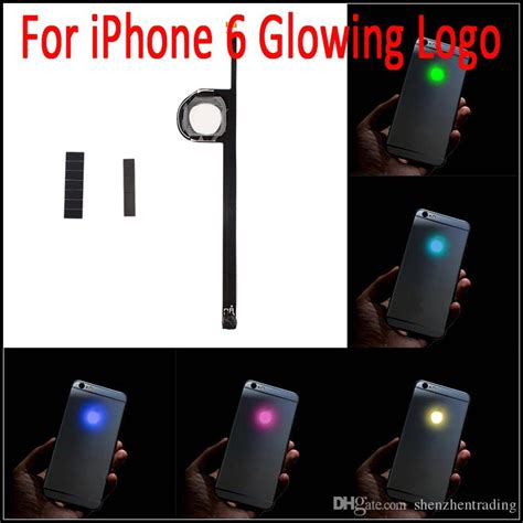 Iphone 6 6 Glowing Logo for iphone 6 luminescent glowing logo led light up