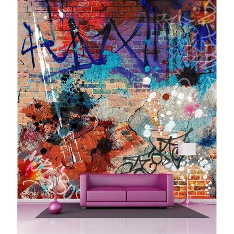 Tapisserie Tag Graffiti by Papier Peint G 233 Ant D 233 Co Tag Graffitti 250x250cm Stickers