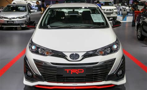 Spoiler All New Toyota Yaris Trd Spoiler All New Yaris Murah 2018 toyota yaris trd variant showcased at 2018 bangkok motor show ndtv carandbike