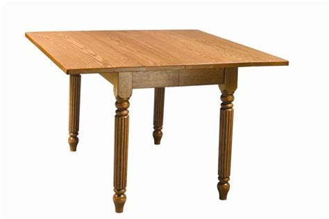 square dining room table with leaf square drop leaf extension dining table from dutchcrafters