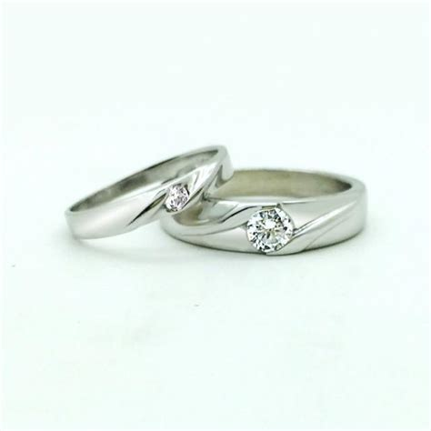 personalized matching promise rings couples engagement