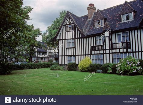 houses to buy in ealing half timbered mock tudor style houses ealing london england early stock photo royalty