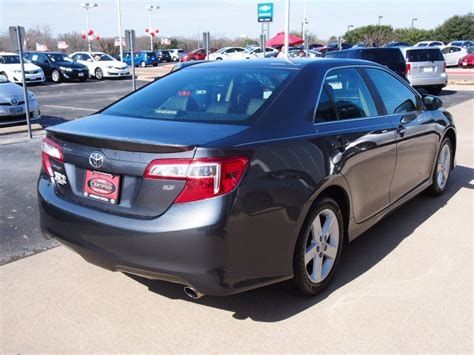 Toyota Camry Cosmic Gray Mica 2012 Cosmic Gray Mica Toyota Camry The Eagle Car
