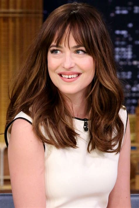 dakota johnson bangs are called what dakota johnson s new bob haircut celebrity beauty news