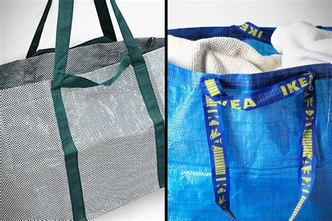 ikea frakta bags ikea s blue frakta bag redesigned by hay to look a little