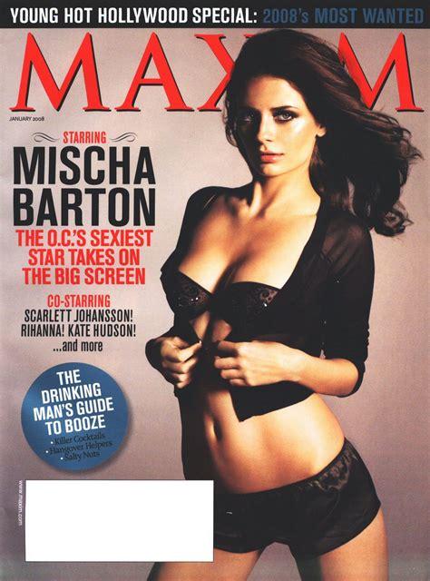 Who Wore Wang Better Scherzinger Or Mischa Barton by Mischa Barton Pics From January 08 Maxim Nsfw