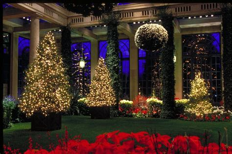 christmas light display in pennsylvania longwood gardens light show phillyvoice