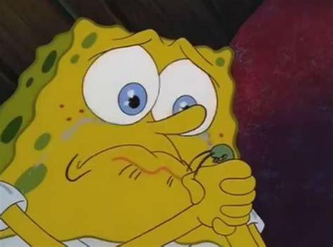 Sad Spongebob Meme - super sad spongebob blank template imgflip