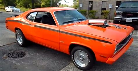 plymouth duster 360 1972 plymouth duster 360 mopar car cars
