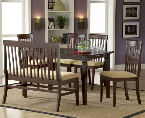 dining sets with benches dining room favorite design dining room table sets with