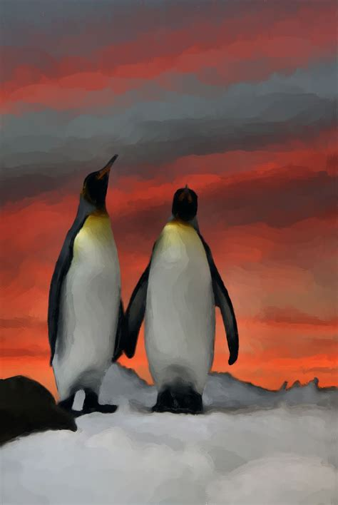 painting penguin penguins update show your essentials creations