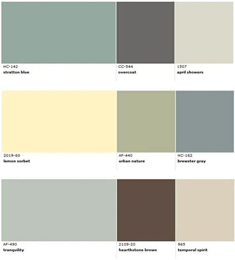 popular benjamin paint colors for house decorating middle colours for dining