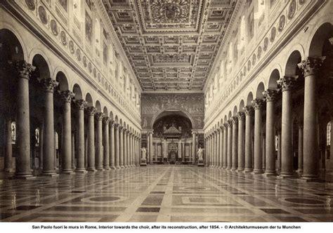 san paolo roma basilica di san paolo fuori le mura plastered
