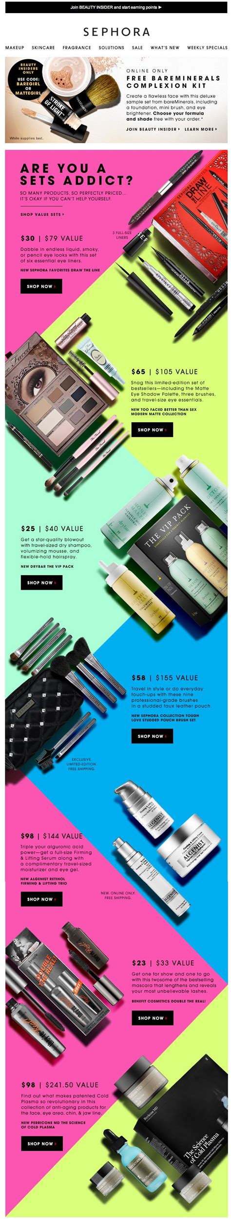 email layout grid 50 of the best email marketing designs we ve ever seen